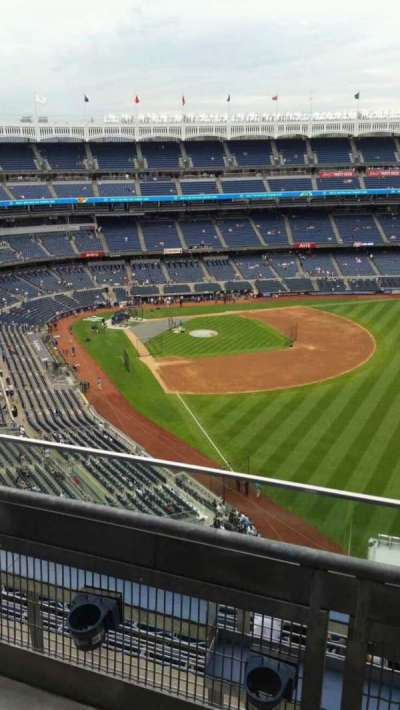 Yankee Stadium, section: 408, row: 2, seat: 5