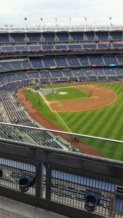 Yankee Stadium, section: 408, row: 2, seat: 7