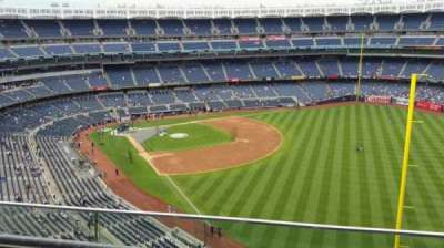 Yankee Stadium, section: 408, row: 2, seat: 10