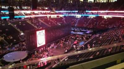 Prudential Center section 107