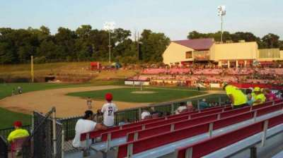 Yogi Berra Stadium, section: AA, row: 7, seat: 22