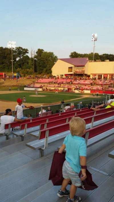 Yogi Berra Stadium, section: AA, row: 7, seat: 21