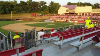 Yogi Berra Stadium, section: AA, row: 7, seat: 20