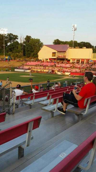 Yogi Berra Stadium, section: AA, row: 7, seat: 19