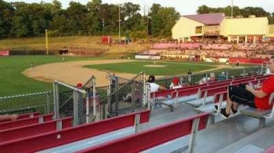 Yogi Berra Stadium, section: AA, row: 7, seat: 18