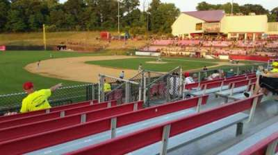 Yogi Berra Stadium, section: AA, row: 7, seat: 15