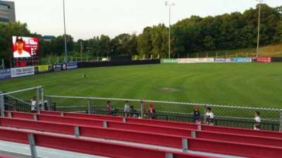 Yogi Berra Stadium, section: AA, row: 7, seat: 12