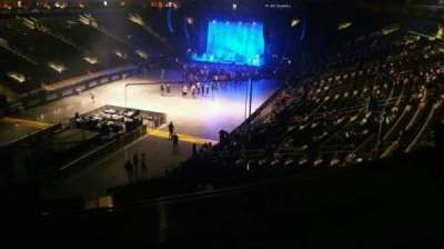 Madison Square Garden, section: 206, row: 2, seat: 16