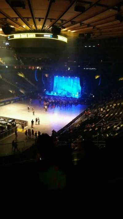 Madison Square Garden, section: 207, row: 3, seat: 2