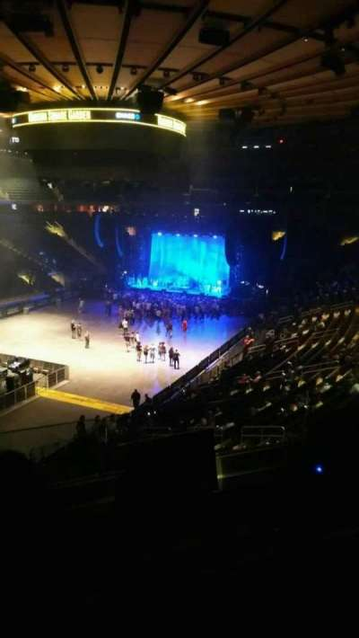 Madison Square Garden, section: 207, row: 3, seat: 4
