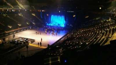 Madison Square Garden, section: 207, row: 3, seat: 5