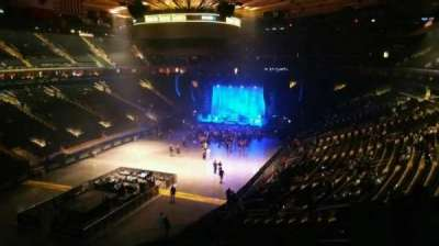 Madison Square Garden, section: 206, row: 5, seat: 15