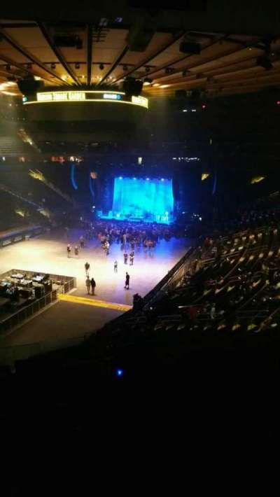 Madison Square Garden, section: 206, row: 5, seat: 14