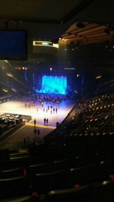 Madison Square Garden, section: 206, row: 5, seat: 8