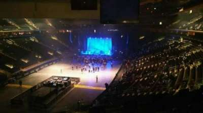 Madison Square Garden, section: 206, row: 5, seat: 5