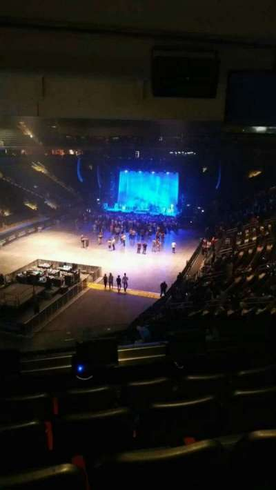 Madison Square Garden, section: 206, row: 5, seat: 4