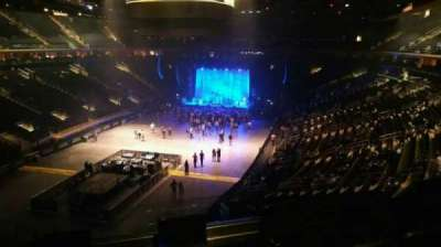 Madison Square Garden, section: 206, row: 4, seat: 2