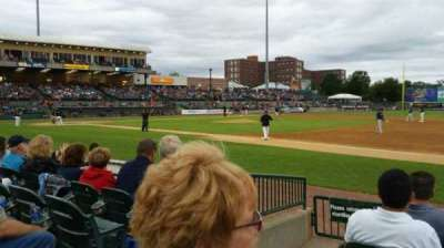 Bethpage Ballpark, section: 112, row: F, seat: 19