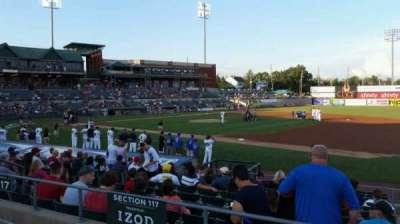 TD Bank Ballpark section 215