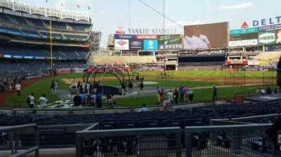 Yankee Stadium section 115