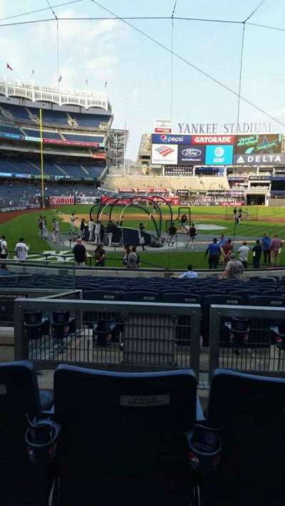 Yankee Stadium section 118