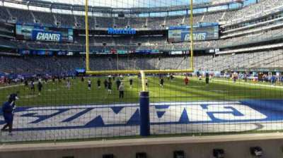 MetLife Stadium section 126