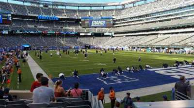 MetLife Stadium section 129