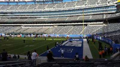 MetLife Stadium section 133