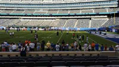 MetLife Stadium section 135