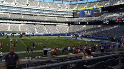 MetLife Stadium section 137