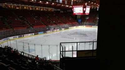 Floyd L. Maines Veterans Memorial Arena section 20