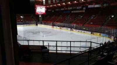 Floyd L. Maines Veterans Memorial Arena section 24