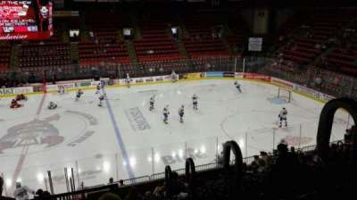 Floyd L. Maines Veterans Memorial Arena section 1