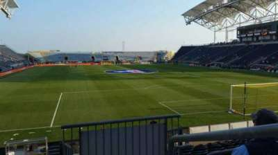 Talen Energy Stadium section 119