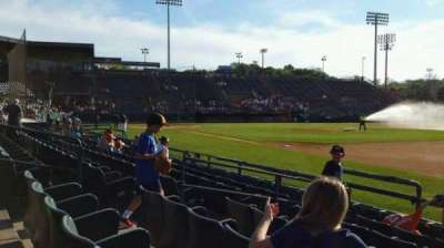new britain stadium section 101