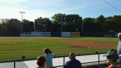 New Britain Stadium, section: 105, row: G, seat: 11