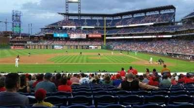Citizens bank park  section 130