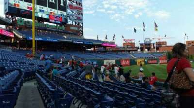 Citizens Bank Park, section: 135, row: 8, seat: 15