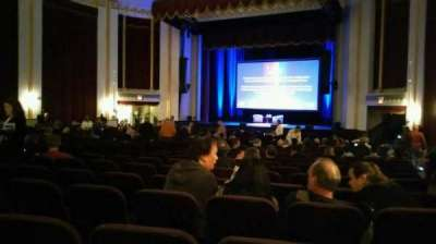 Mayo Performing Arts Center, section: Orchestra, row: AA, seat: 20