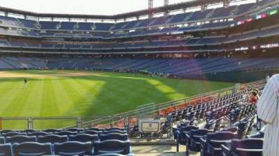 Citizens Bank Park, section: 147, row: 11, seat: 1