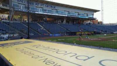 Richmond County Bank Ballpark section 12