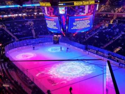 Madison Square Garden section 301