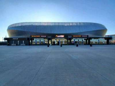 Nassau Veterans Memorial Coliseum, section: Main Entrance