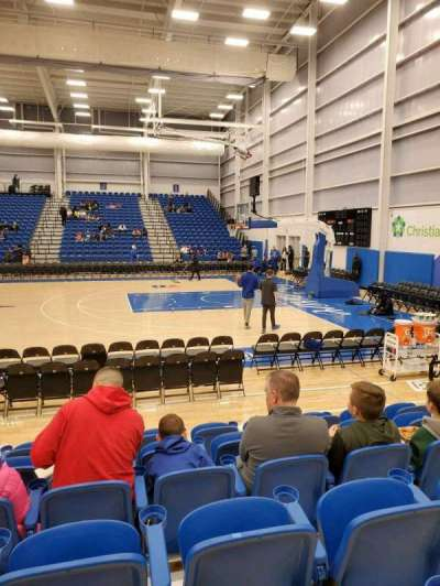 76ers Fieldhouse, section: 9, row: 6, seat: 6