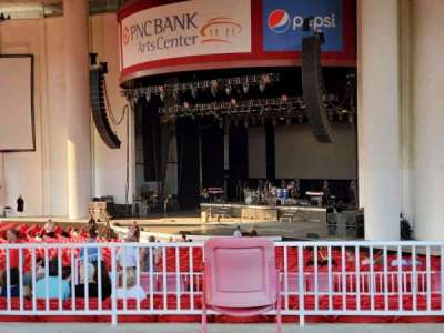 PNC Bank Arts Center, section: 301, row: A, seat: 42