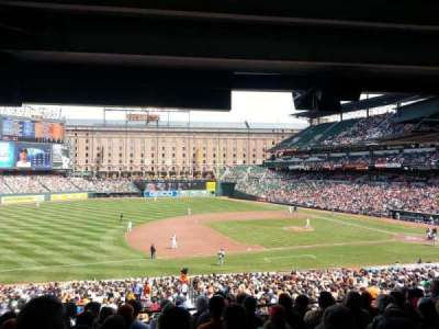 Oriole Park at Camden Yards, section: 55, row: 8, seat: 17
