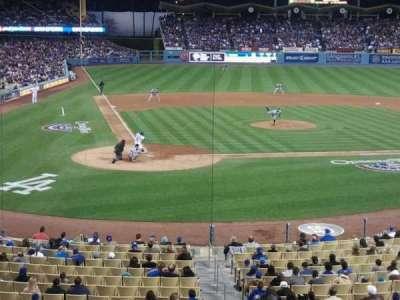 Dodger Stadium, section: 116LG, row: B, seat: 5