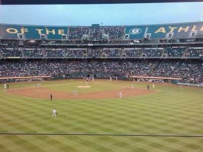 Oakland Alameda Coliseum section Box site