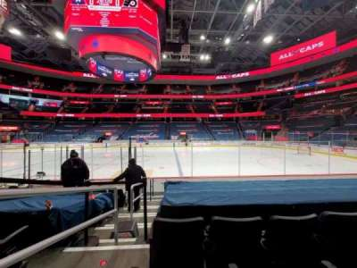 Capital One Arena, section: 112, row: J, seat: 1