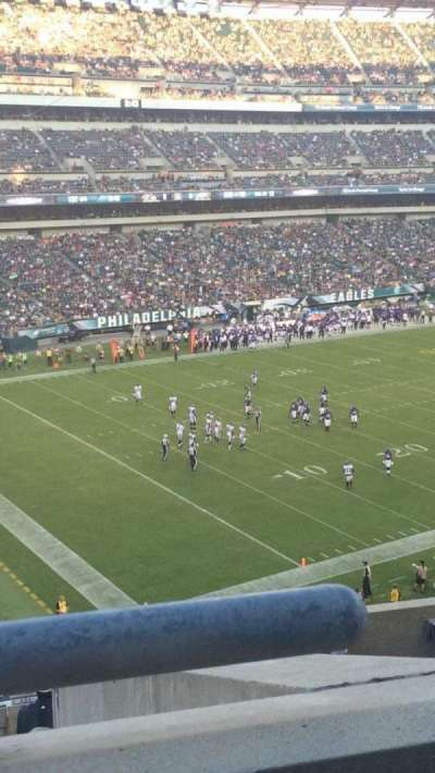 Lincoln Financial Field, section: C35, row: 10, seat: 14